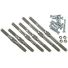 Lunsford 4mm Titanium Turnbuckle Kit fits TRAXXAS® Stampede 2wd All