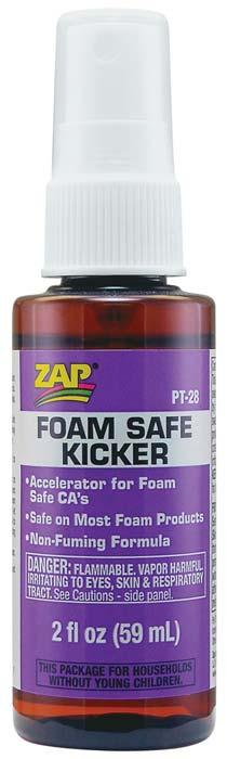 zap adhesives foam safe kicker 2 oz. Black Bedroom Furniture Sets. Home Design Ideas