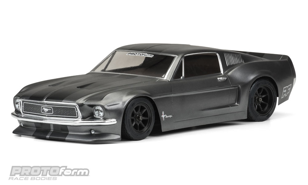 Protoform 1968 Ford Mustang Vintage Trans-Am Racing Body (Clear)