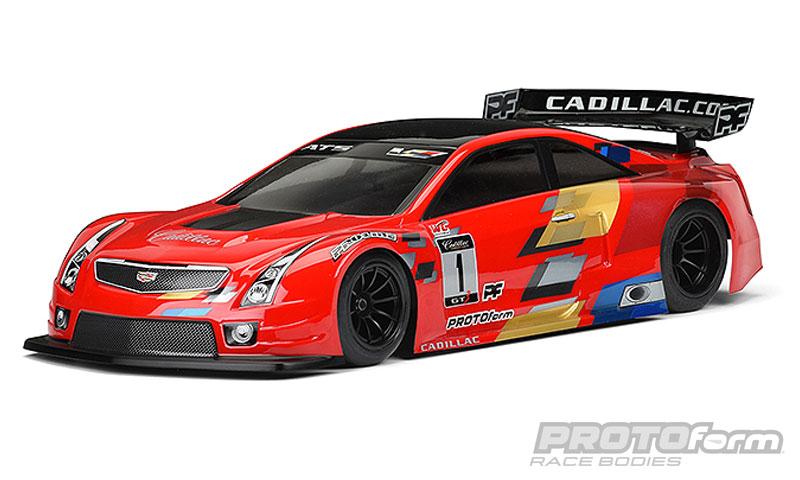 ProtoForm Cadillac ATS-V.R Clear Body (200mm Pan Car & TC)
