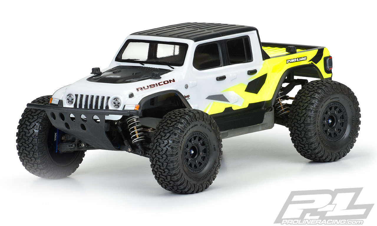 Pro Line Jeep Gladiator Rubicon Clear Body Pro3542 00