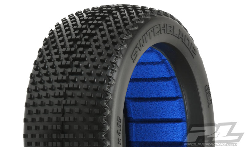 M4 2 Pro-Line PRO9057-03 1//8 SwitchBlade Off Road Buggy Tire