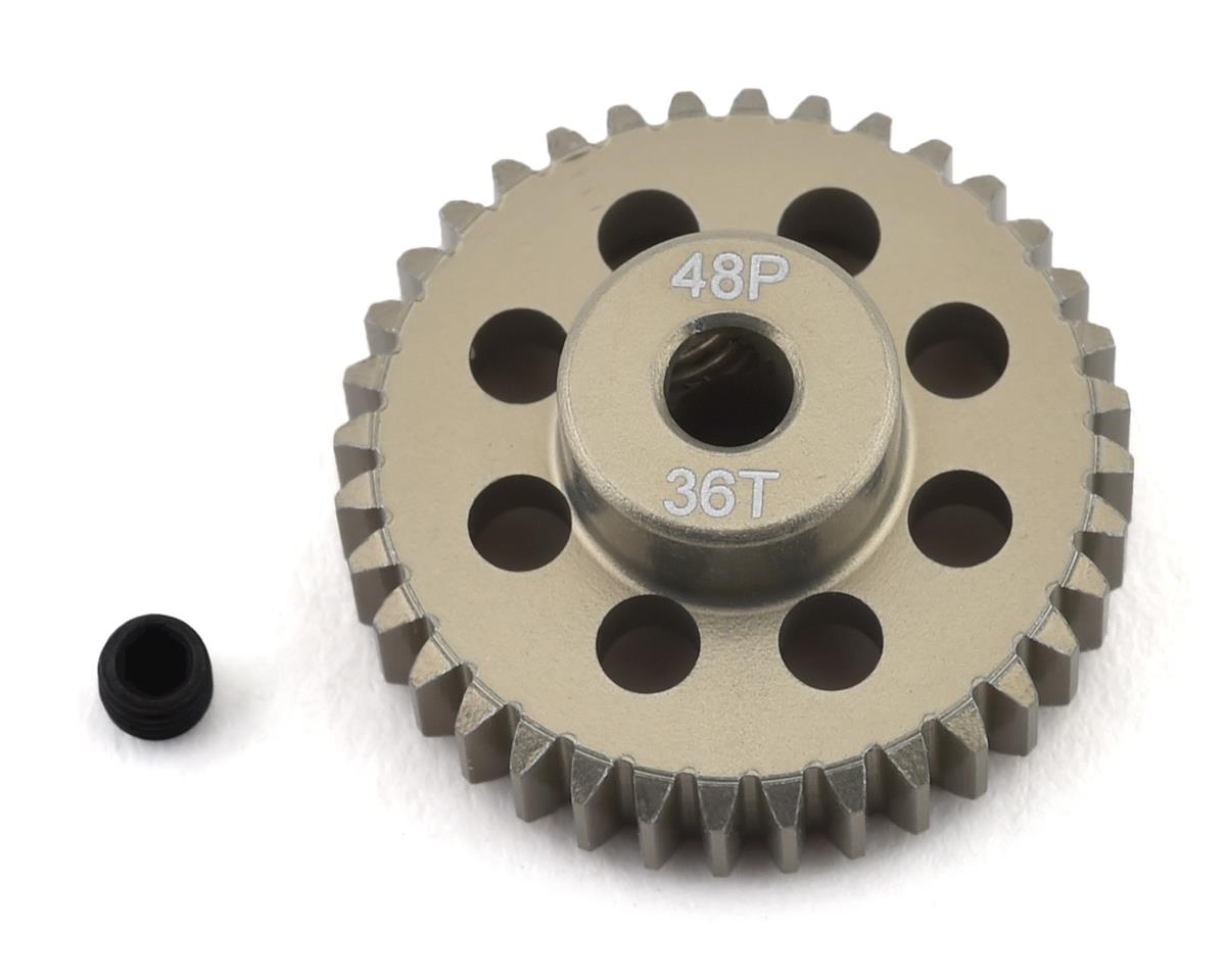 ProTek RC 48P Lightweight Hard Anodized Aluminum Pinion Gear (3.17mm Bore) (36T)