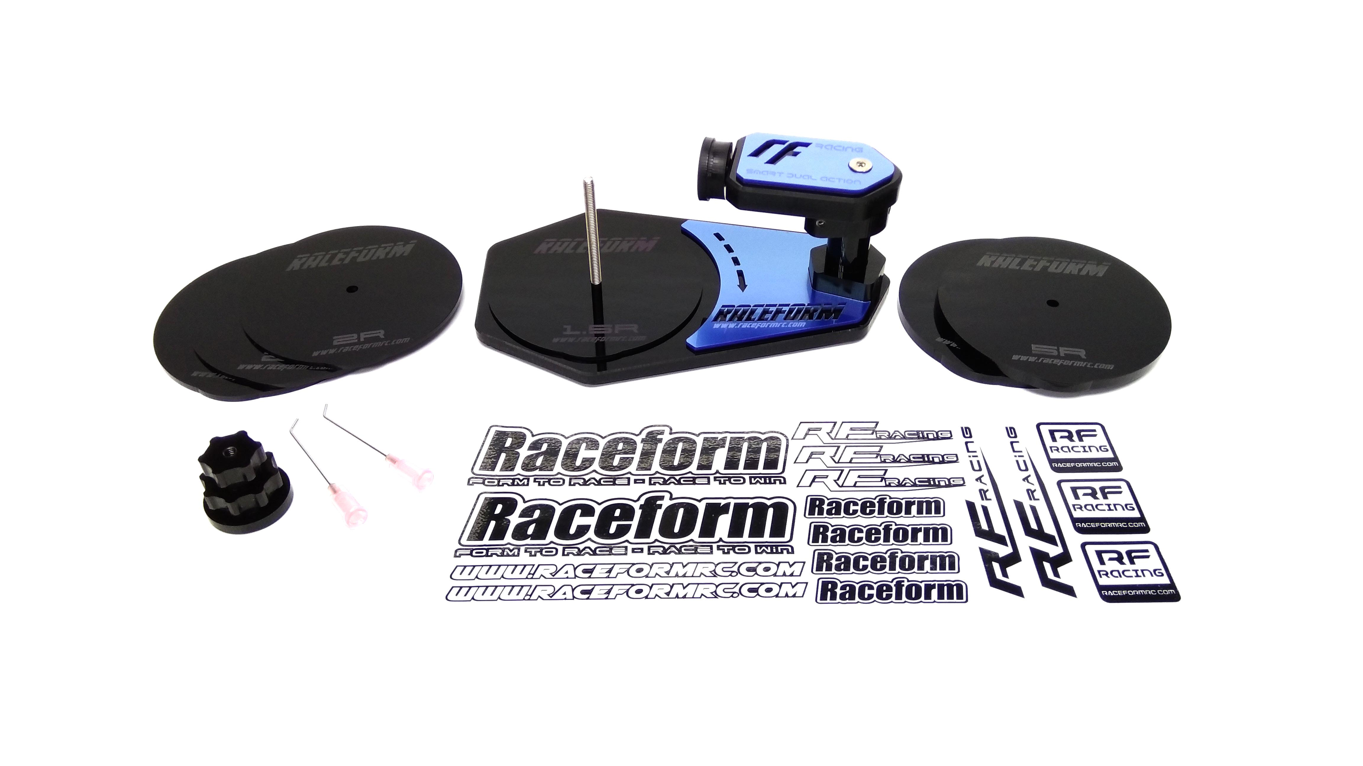 Raceform Lazer 1/10th Scale Buggy Tire Gluing Jig