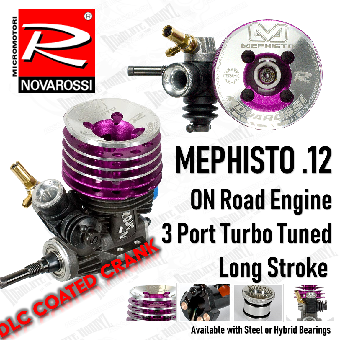 Hybrid Radio Control & Control Line Novarossi MEPHISTO  21