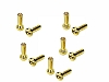 1UP Racing Low Pro Bullet Plugs 4mm (10 pack)