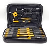 Sticky Kicks Expert Series 13 Piece Tool Kit with Carry Case (Black / Gold)