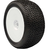 AKA EVO Scribble 1/8 Truggy Pre-Mounted Tires (White) (Super Soft Long Wear) (2)