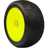 AKA EVO Scribble 1/8 Truggy Pre-Mounted Tires (Yellow) (Super Soft Long Wear) (2)