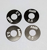 AMR 5mm Hole Hex Wheel Spacer 0.5mm (4pcs)