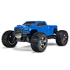 ARRMA 1/10 BIG ROCK CREW CAB 3S BLX 4WD Brushless Monster Truck with Spektrum RTR (Blue)