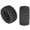 ARRMA 1/10 dBoots Backflip LP Front/Rear 3.8 Pre-Mounted Tires (2)