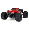 ARRMA 1/10 GRANITE MEGA 550 Brushed 4WD Monster Truck RTR (Red / Black)