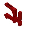 ARRMA Sliding Motor Mount Red