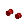 Arrma Aluminum Chassis Brace Spacer Set Red