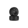 ARRMA Minokawa MT 6S Tire Wheel Glued Black (2)