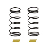 Associated RC12R6 Shock Spring Yellow [13.1 Lb/In]
