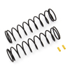Team Associated Rear Springs V2, Yellow [4.4lb