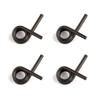 Team Associated 0.85mm 4-Shoe Clutch Springs (4)