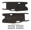 Team Associated RC8T3.1 FT Graphite Arm Stiffeners (Rear)