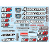 Associated B6 Decal Sheet