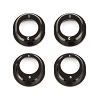 Team Associated B6.1 Aluminum Differential Height Inserts (Black)
