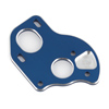 Associated B6.1 Laydown Motor Plate Blue Aluminum