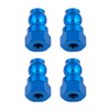 Associated Shock Bushings 12 mm Blue Aluminum