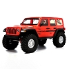 Axial 1/10 SCX10 III Jeep JLU Wrangler with Portals RTR (Red)