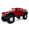 Axial 1/10 SCX10 III Jeep JT Gladiator Rock Crawler with Portals RTR (Red)