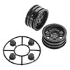 Axial 1.9 Black Rock CRC Wheels (2)