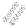 Axial Spring 12.5x60mm 1.70lbs/in Green (2)