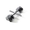 Axial AR44 Differential Covers (Silver)
