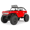 Axial 1/24 SCX24 Deadbolt 4WD Rock Crawler Brushed RTR (Red)