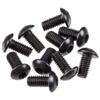 Axial Hex Socket Button Head Black M3x6mm (10)
