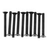Axial ex Sckt Flat Head M3x25mm Black Oxide (10)