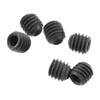 Axial Set Screw M4x4mm Black Oxide (6)