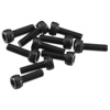 Axial Cap Head 2.6x8mm Black (10)