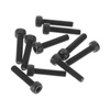 Axial M2.6x12mm Cap Head Screw Black (10)