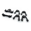 Carisma Front/Rear Bumper Mounts and Shock Hoops Mounts: SCA-1E