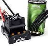 Castle Creations MonsterX8S 33.6V ESC W/1717-1260KV Sensored Motor
