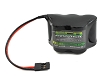 EcoPower 5-Cell NiMH 2/3A Hump Receiver Battery Pack (6.0V/1600mAh)