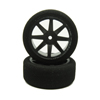 Enneti 1/10 Touring Front 26mm (32 Shore) (ET-Carbon) (1pr)