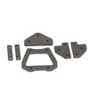 Hot Bodies Racing Chassis Brace Carbon Set (E817)