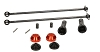 HB Racing CVA Drive Shaft Set 135mm (Rear)