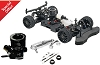 Hot Bodies Racing 1/8 RGT8 GT Class Nitro 4WD Kit Combo (Engine & Exhaust Included)
