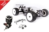 Hot Bodies Racing D817T 1/8 4WD Off-Road Nitro Truggy Combo (Engine & Exhaust Included)