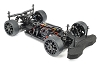 HB Racing RGT8-E Kit (Electric Version/GT On-Road Race Kit 1:8)