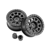 HPI Racing CR-10 Wheel, 1.9mm, Black, (2pcs), Venture Toyota