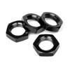 HPI Racing 17mm Wheel Nut (Black / 4pcs)